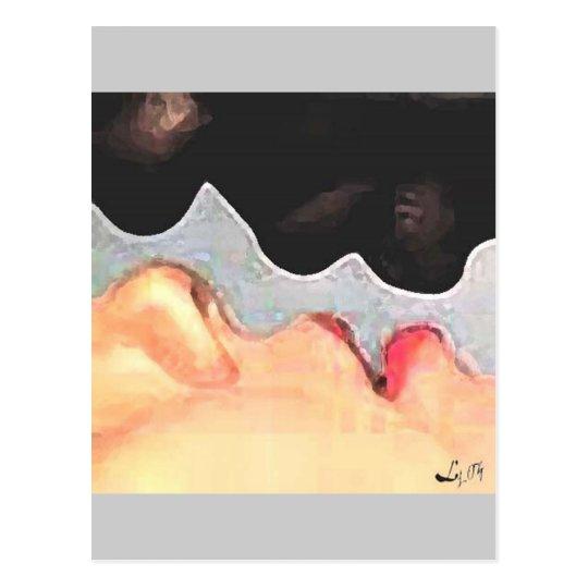 ORISHAS KISS POSTCARD
