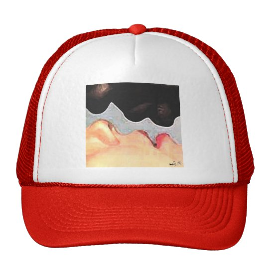 ORISHAS KISS TRUCKER HAT