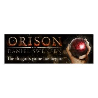 ORISON Bookmark Mini Business Card
