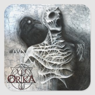 ORKA - Whispers of a hidden fear - sticker