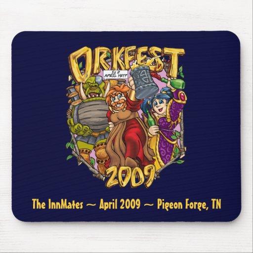 OrkFest09m, InnMates ~ la paloma del ~ de abril de Alfombrilla De Ratones