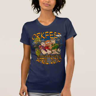 OrkFest 2010 señoras T Camiseta
