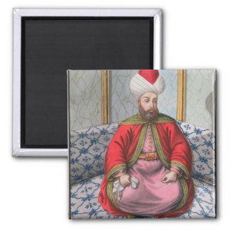 Orkhan (1288-1359), sultán 1326-59, 'de una serie imán cuadrado