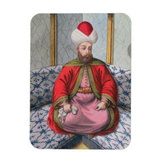 Orkhan (1288-1359), sultán 1326-59, 'de una serie rectangle magnet