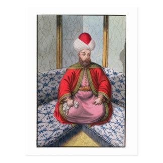 Orkhan (1288-1359), sultán 1326-59, 'de una serie postales