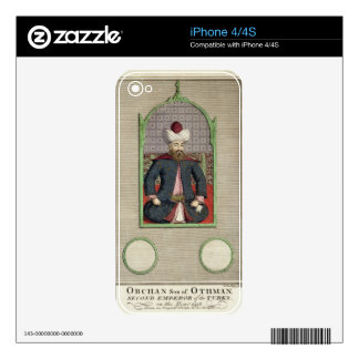Orkhan (c.1288-c.1362) son of Osman, Second Empero Skins For iPhone 4S
