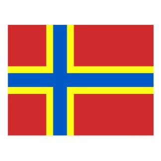 Orkney Flag Postcard