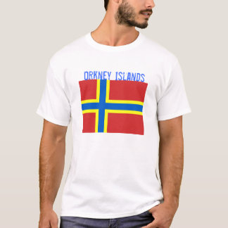 Orkney Islands Flag T-shirt