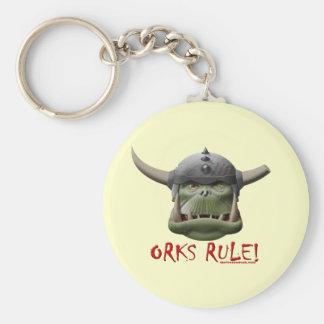 Orks Rule! Keychain