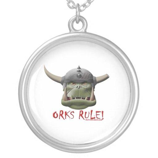 Orks Rule! Pendants