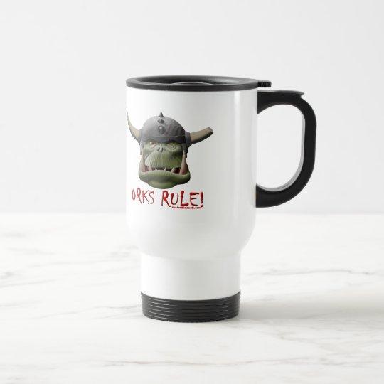 Orks Rule! Travel Mug