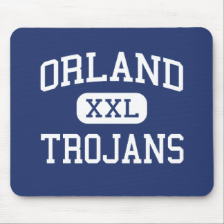 Orland - Trojans - High School - Orland California Mouse Pad