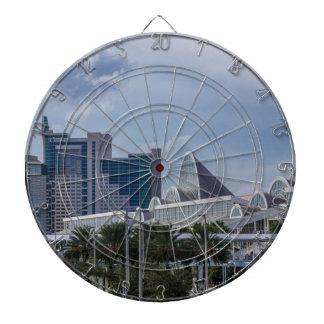 Orlando Aerial View Dart Board