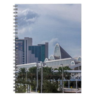 Orlando Aerial View Notebook