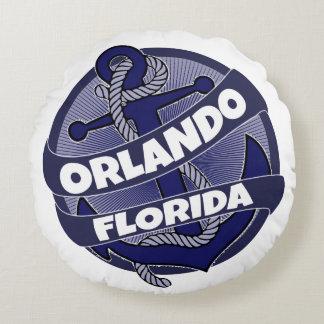 Orlando anchor round pillow