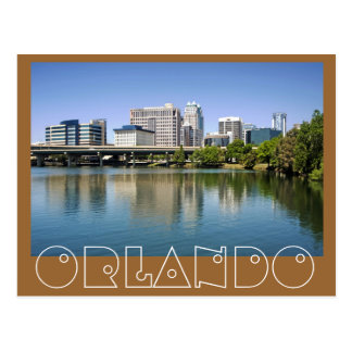 Orlando as seen from Lake Lucerne Postcard