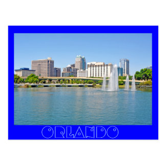 Orlando, as seen from Lake Lucerne Postcard