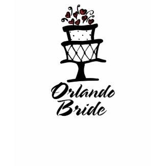 Orlando Bride Cake shirt