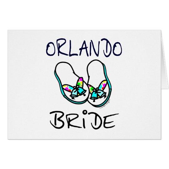 Orlando Bride Card