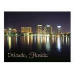 Orlando, FL reflections from Lake Eola Postcard