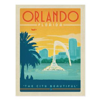 Orlando, FL Tarjeta Postal