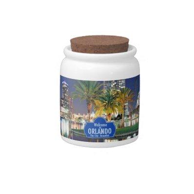 Orlando Florida Candy Jars