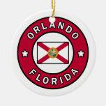Orlando Florida Ceramic Ornament