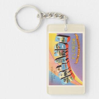 Orlando Florida FL Old Vintage Travel Souvenir Keychain