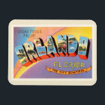 "Orlando Florida FL Old Vintage Travel Souvenir Magnet<br><div class=""desc"">Orlando,  Florida FL