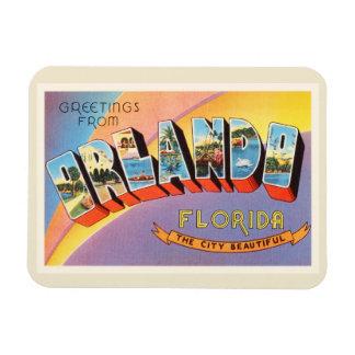 Orlando Florida FL Old Vintage Travel Souvenir Magnet