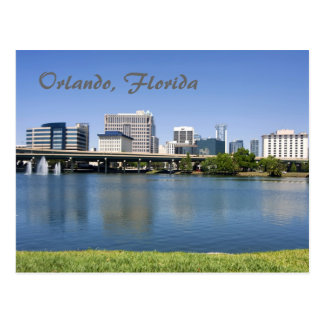 Orlando, Florida from across Lake Lucerne Postcards