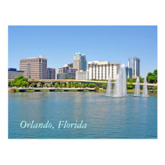Orlando, Florida from Lake Lucerne Post Cards