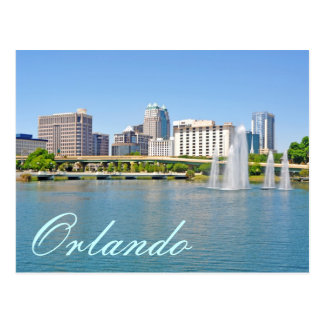 Orlando, Florida from Lake Lucerne Postcard