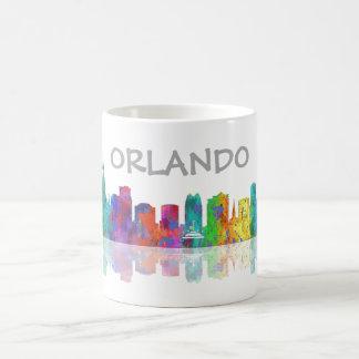 ORLANDO, FLORIDA SKYLINE - Drinking Mug