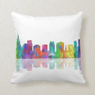 ORLANDO, FLORIDA SKYLINE - Throw Pillow