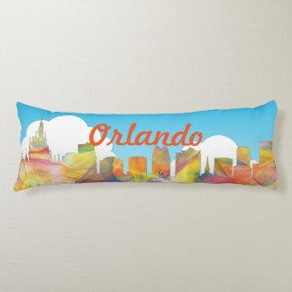 ORLANDO, FLORIDA SKYLINE WB1 - BODY PILLOW