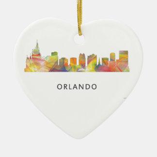 ORLANDO, FLORIDA SKYLINE WB1 - CERAMIC ORNAMENT