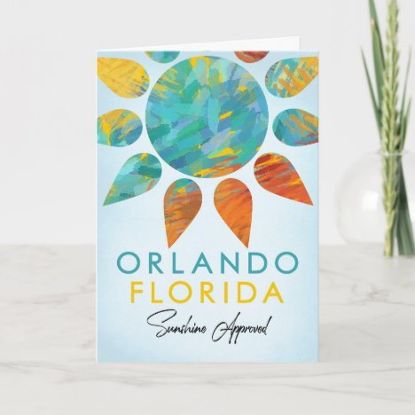 Orlando Florida Sunshine Travel Card