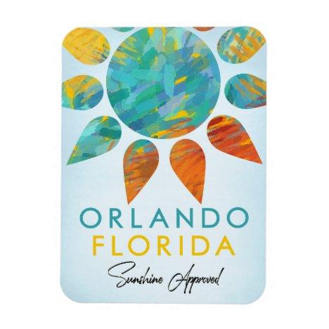 Orlando Florida Sunshine Travel Magnet