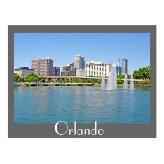 Orlando, Florida, viewed from Lake Lucerne Postcard