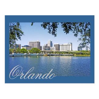 Orlando, Florida viewed from Lake Lucernee Postcard