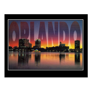 Orlando Florida Vintage Travel Postcard