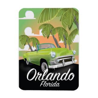 Orlando Florida vintage travel poster Magnet