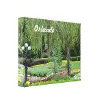 Orlando Gardens Gallery Wrap Canvas