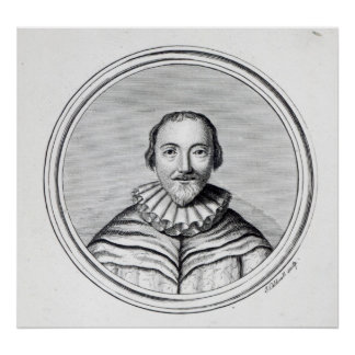 Orlando Gibbons, engraved by J. Caldwall Posters