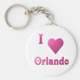 Orlando -- Hot Pink Key Chains