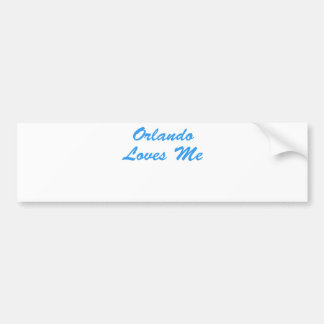 Orlando is For Lovers! Bumper Sticker