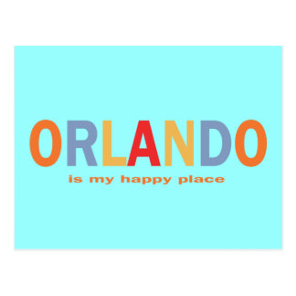 Orlando is My Happy Place Post Cards