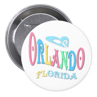 Orlando la Florida Pin Redondo 7 Cm