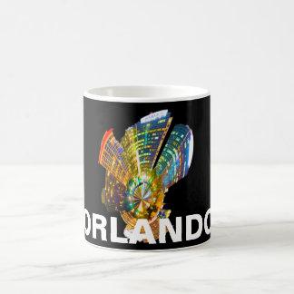 Orlando la Florida Taza Básica Blanca